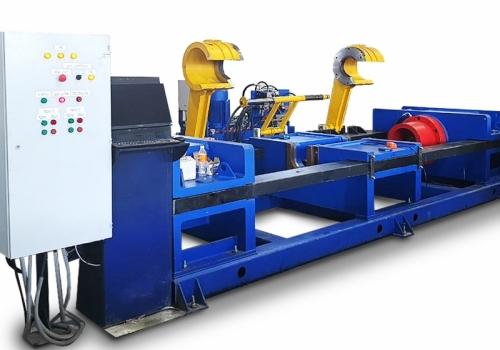 Автоматизированный пресс для запрессовки и распрессовки колесных пар ПГКП-630/2А