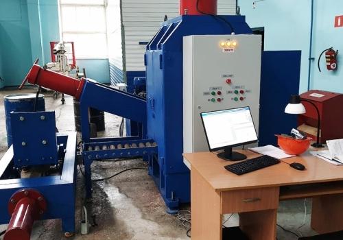 Автоматизированный стенд для заправки и испытания эластомерных аппаратов СИП-2500
