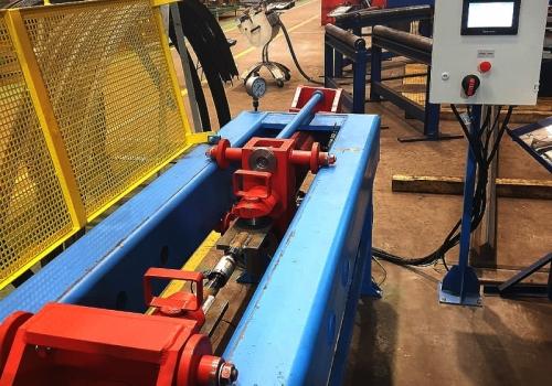 Стенд для испытаний на растяжение тормозных тяг вагонов СИТ-25